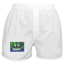 Wheatens in tub Design Boxer Shorts