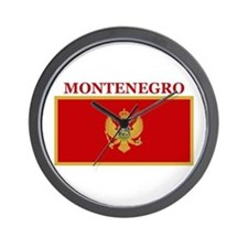 Montenegro Products Wall Clock