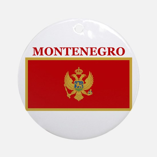 Montenegro Products Ornament (Round)