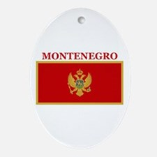 Montenegro Products Oval Ornament