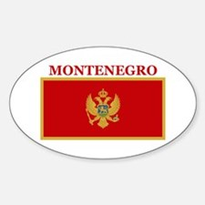 Montenegro Products Oval Decal