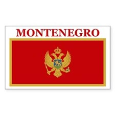 Montenegro Products Rectangle Decal