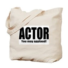 """ThMisc """"Actor"""" Tote Bag"""