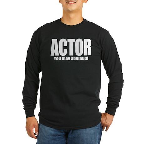 "ThMisc ""Actor"" Long Sleeve Dark T-Shirt"