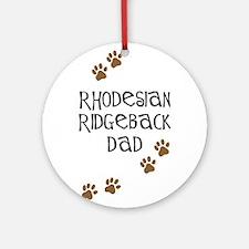 Ridgeback Dad Ornament (Round)