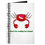 DON'T BE CRABBY Journal