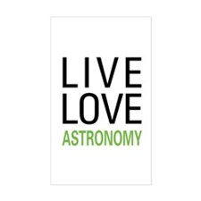 Live Love Astronomy Decal