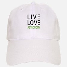 Live Love Astronomy Baseball Baseball Cap