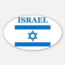 Israel Products Oval Decal