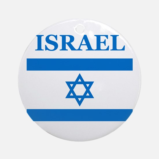Israel Products Ornament (Round)