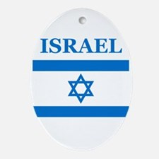 Israel Products Oval Ornament
