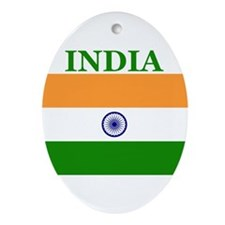 India Products Oval Ornament