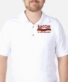Bacon is the Answer Golf Shirt