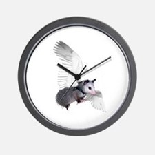 Angel Possum Wall Clock