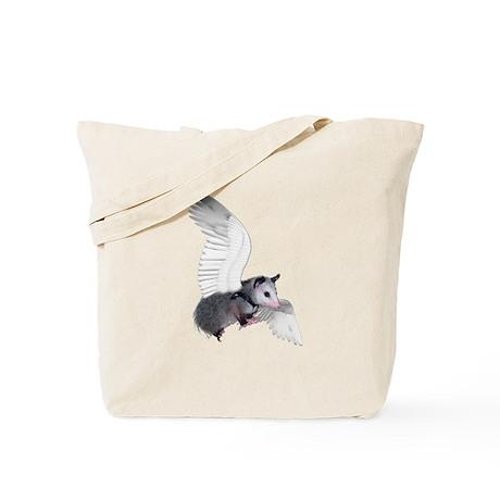 Angel Possum Tote Bag