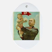 Politics Oval Ornament