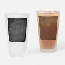 Unique Chalkboard Drinking Glass