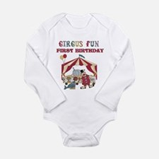 Circus Fun 1st Birthday Body Suit