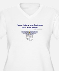 Sock Puppet Quote T-Shirt