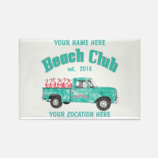 Flamingo Beach Club Magnets