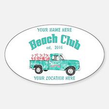 Flamingo Beach Club Decal