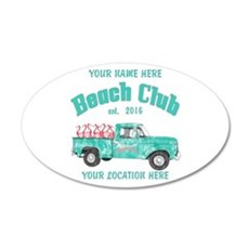 Flamingo Beach Club Wall Decal
