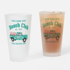 Flamingo Beach Club Drinking Glass