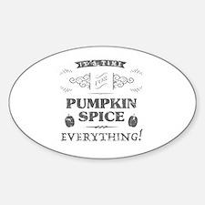 Cute Latte Sticker (Oval)