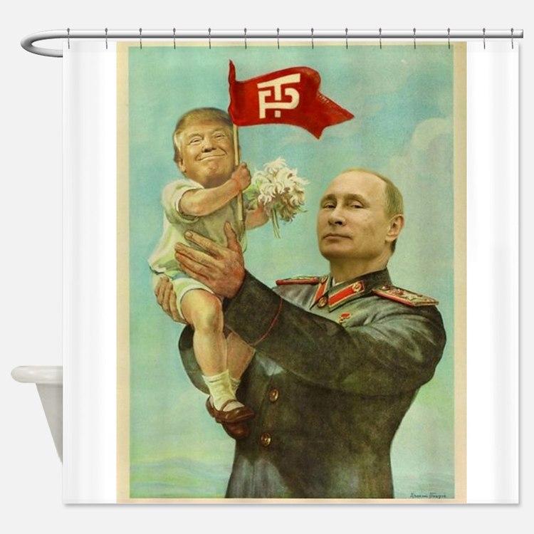 babytrump Shower Curtain