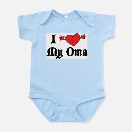 I Love My Oma Infant Bodysuit
