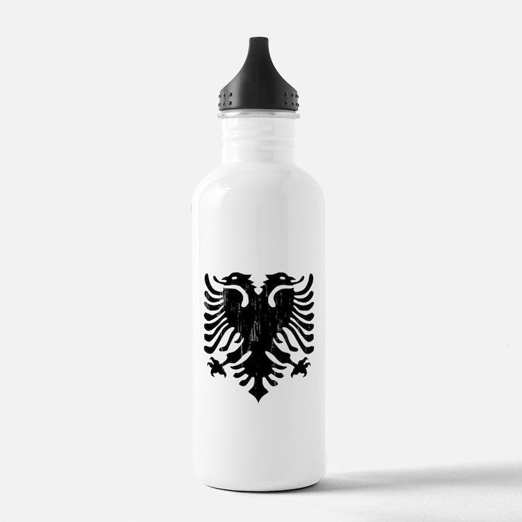 albania_eagle_distress Water Bottle