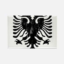 albania_eagle_distressed Magnets