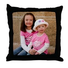 Kassidy and Kennedy Throw Pillow