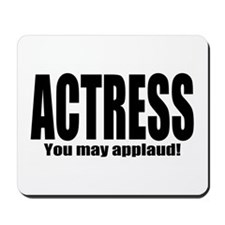 "ThMisc ""Actress"" Mousepad"