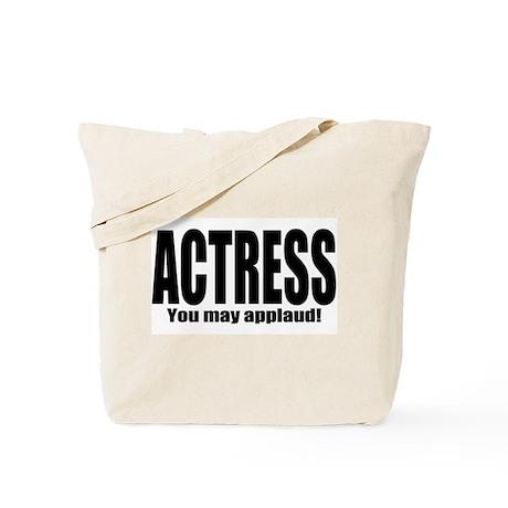"""ThMisc """"Actress"""" Tote Bag"""