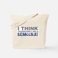 Think Democrat Tote Bag