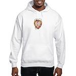Victorian Heart Valentine Hooded Sweatshirt