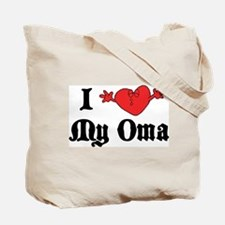 I Love My Opa Tote Bag