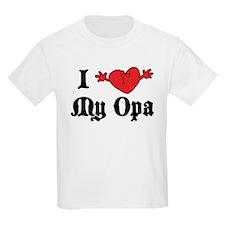 I Love My Opa T-Shirt