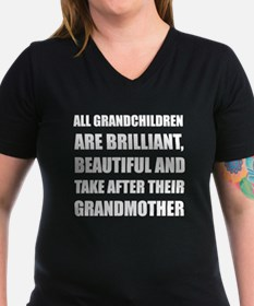 Grandchildren Brilliant Grandmother T-Shirt