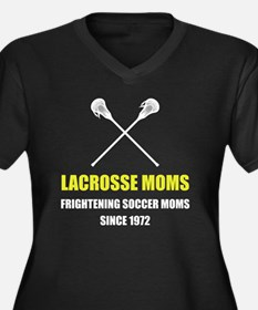 Lacrosse Frightening Soccer Moms Plus Size T-Shirt