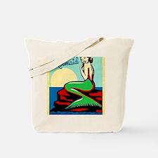 Cute Mermaid ocean Tote Bag