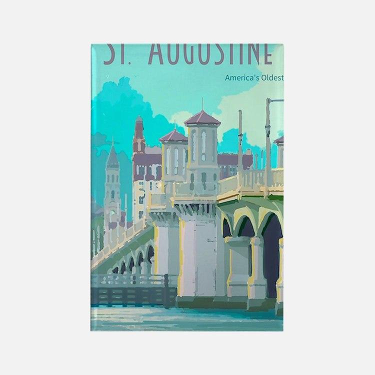 Cute St augustine fl Rectangle Magnet
