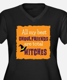 Ghoulfriends Halloween Plus Size T-Shirt
