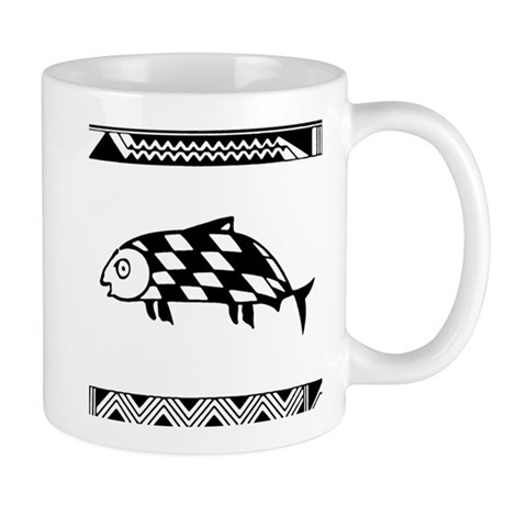 MIBRES FISH BLACK Mug