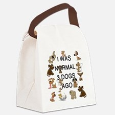 Cute Dogs Canvas Lunch Bag