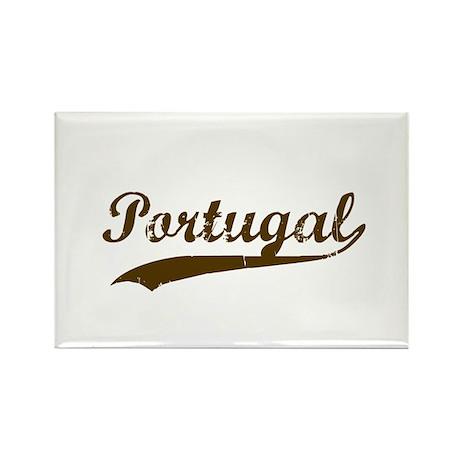 Vintage Portugul Retro Rectangle Magnet
