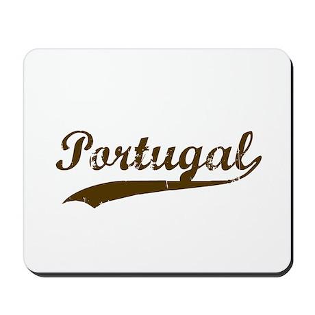 Vintage Portugul Retro Mousepad