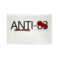 Anti Red Tape Rectangle Magnet