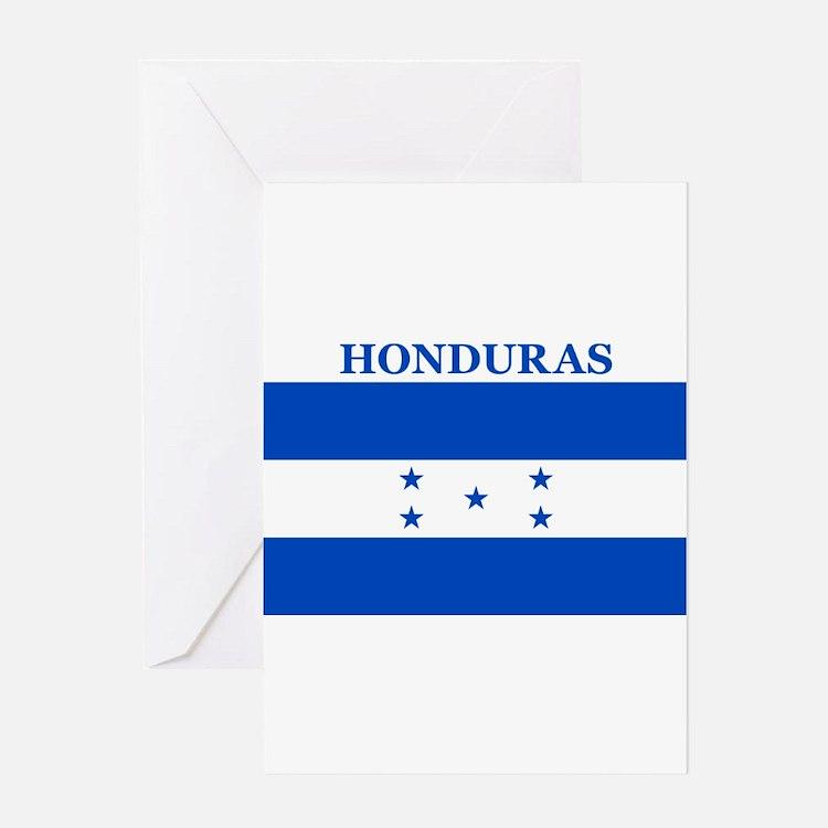 Cute Honduras Greeting Card